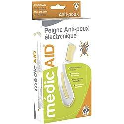 médicAID Peigne Anti-Poux Électronique