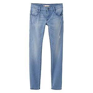 Levi's NJ22607, Jeans Bambina, Bleu (Dutch Blue), 10 anni