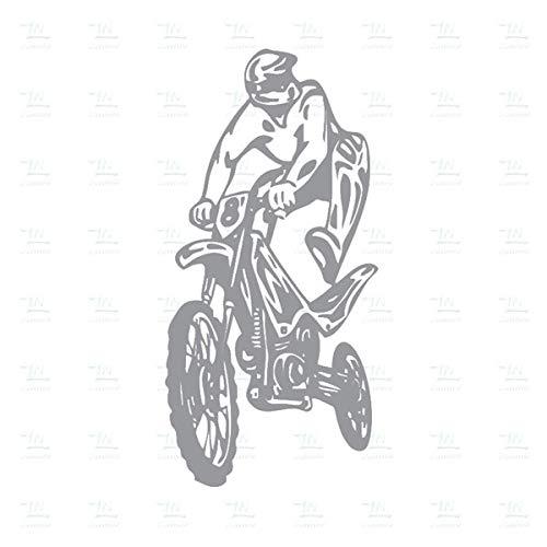 Njuxcnhg Mode Musik Zeichen Sport Art Sticker Sport Motorrad