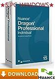 Nuance Dragon Professional Individual V15.0 - Deutsch + Englisch - 5PC-Windows ★ Versand via Amazon-Nachricht innerhalb von max. 24Stunden ★