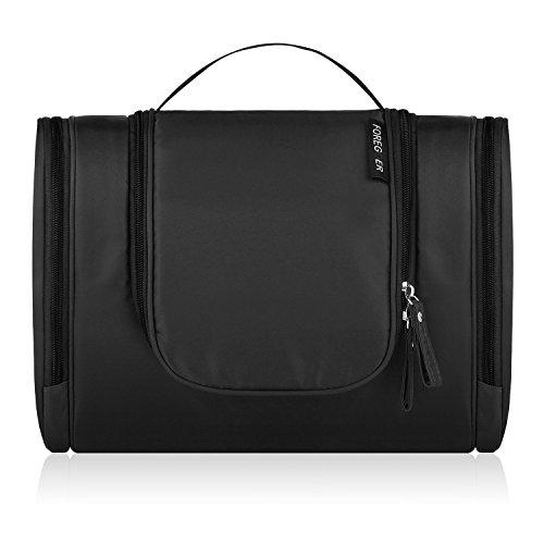 foregoer-travel-hanging-toiletry-bag-bathroom-organizer-kit-black