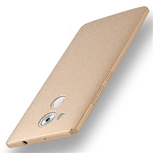 Bllosem Huawei Mate 8 Hülle Neu High Quality Ultra Slim Sand Rock Exquisite reale Haut Gefühl Ganzkörper Schutzhülle Hülle für Huawei Mate 8 Gold