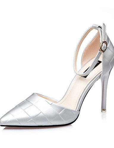 WSS 2016 Chaussures Femme-Mariage / Habillé / Soirée & Evénement-Noir / Violet / Argent / Fuchsia-Talon Aiguille-Talons / Bout Pointu-Talons- fuchsia-us8 / eu39 / uk6 / cn39