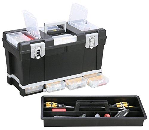 Allit Werkzeugkoffer, 1 Stück, schwarz/grau, 476320