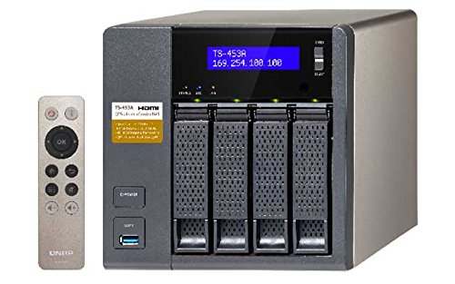 Qnap TS-453A 16GB Ram 4-Bay NAS 16TB Bundle mit 2X 8TB WD80EFZX WD Red | 0743031741664