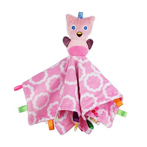 Letton Baby-Sicherheits-Decke, weiches Stofftier Fox-Plüsch-Sicherheitsdecke Soothing Spielzeug für Baby Toddles Kinder