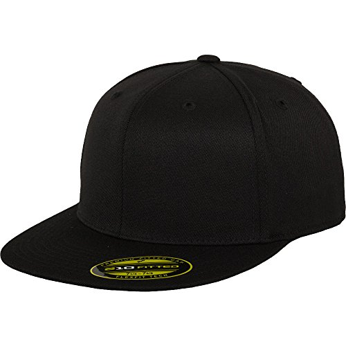 Flexfit by Yupoong Mens Premium 210 Premium Wool Fitted Baseball Cap 210 Fitted Cap
