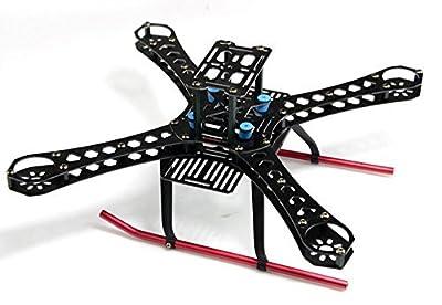 BGNing X4 360mm Wheelbase FiberGlass Alien Across Mini Quadcopter Frame Kit DIY RC Multicopter FPV Drone