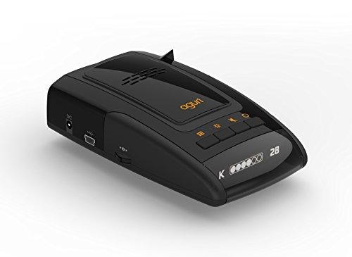 Aguri Skyway GTX50 (Deutsche Version) 3 in 1 Radarwarner & Laserwarner mit GPS & POI Warnung