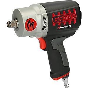 KS Tools 515.1095 1/2″ Monster Hochleistungs-Druckluft-Schlagschrauber, 1690Nm
