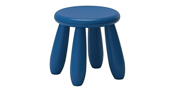 Ikea sgabello in colore blu scuro per bambini mammut: amazon.it