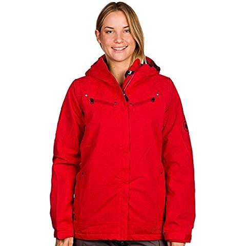 686Mannual Licitación Snowboard–Chaqueta, color rojo oscuro textura 2013XS, rojo, XS