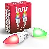 Innr E14 Smart LED Kerze, Color, dimmbar, RGBW, kompatibel mit Philips Hue*, RB 250C (2-Pack)