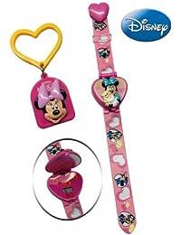 Disney Digital Pink Dial Children's Watch - 6500026