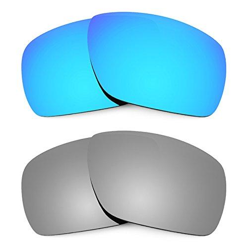 Revant Ersatzlinsen für Oakley Dispatch 1 Polarisiert 2 Paar Kombipack K004