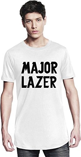 Preisvergleich Produktbild Major Lazer Black Logo Long T-shirt X-Large