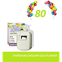 B2C Balloon Helium Gas Disposable Cylinder Canister Birthday Party Fills 80 Balloons