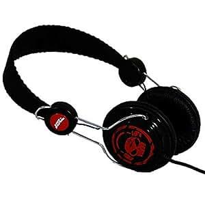 No Fear casque audio Grunge noir/rouge --- EMBALLAGE ENDOMMAGE