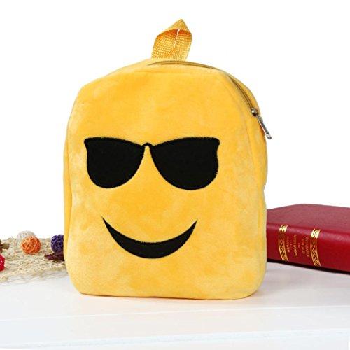 Imagen de goodsatar emoji lindo emoticon hombro escuela  para  infantil bolso de la  de la taleguilla c  alternativa