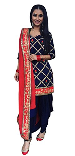 Patiyala Suit for Women Clothing Designer Party Wear Today Offers Low Price...