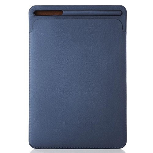 Voberry Hülle Case, Leather Sleeve Case Cover Tasche Haut für Apple Pencil & iPad Pro 10,5,9,7 Zoll (Blau)