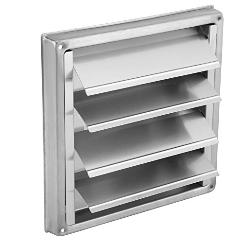 Ventilación - Ventilador de pared de acero inoxidable de 100 mm, extractor...
