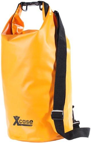 Xcase Wasserdichter Sack: Wasserdichter Packsack 16 Liter, orange (wasserdichte Packtasche)