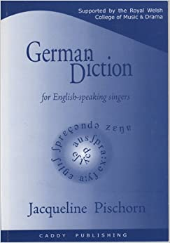 Book German Diction for English-speaking Singers
