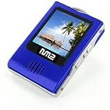 """Neonumeric - lecteur NM2 (MP3-MP4 - haut parleur écran 1,5"""" - Radio FM) - NM2-4096 BLUE - 4 Go"""