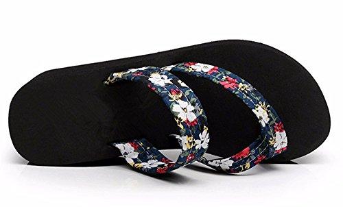 Flyrcx Mesdames Été Chaussures Anti-dérapant Caractère Casual Mode Pantoufles C