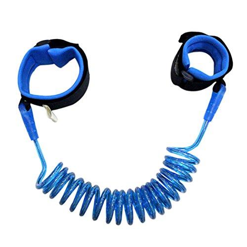 Freahap Kinder Sicherheitsleinen Kinder Sicherheitsgurt Hand-Gürtel Blau M