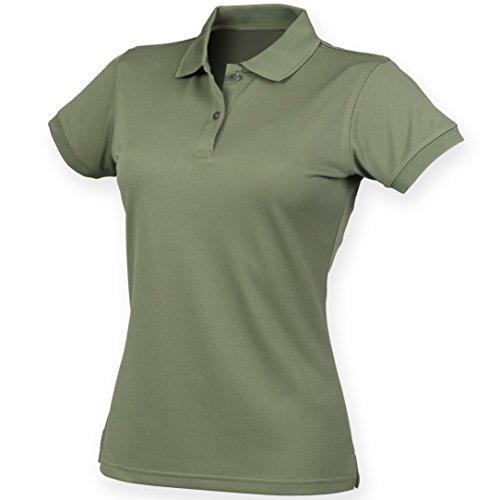 Coolplus® polo féminin Olive