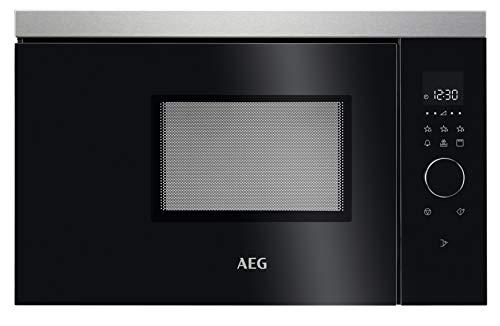 AEG MBB1756DEM 60cm Einbau-Mikrowelle / Touch-Bedienung / Grillfunktion / Display mit Uhr