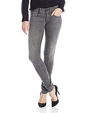 G-Star Raw Damen Skinny Jeans Midge Cody Mid Skinny Slander Flint Super Stretch