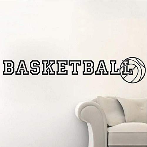 l Korb Sport Gym Wandkunst AufkleberDecals Home Diy Dekoration Wand L Entfernbare Wandaufkleber ()