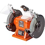 Bort Doppelschleifer BDM-200-Lt, Schleifscheiben Ø x Dicke x Bohrung 150 x 16 x 12,7 mm, 200 Watt, 2950 UpM, LED-Arbeitslicht