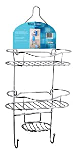 Bluewater Shower Caddy, Chrome
