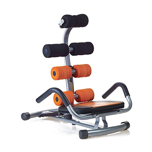 Everfit Panca Fitness Ab-Smart Antracite/Arancione