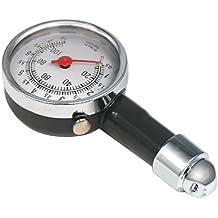 TRIXES Manómetro profesional para neumático de parada en boxes para coches, caravanas, furgonetas, motos