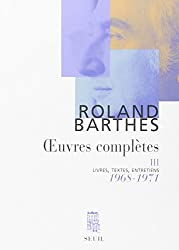 Oeuvres complètes. Tome 3, 1968-1971