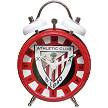 CYP Imports RD-31-AC Reloj Despertador Campanas, diseño Athletic Club Bilbao ,