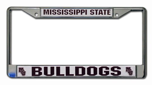 Rico Industries NCAA Chromrahmen, Mississippi State Bulldogs