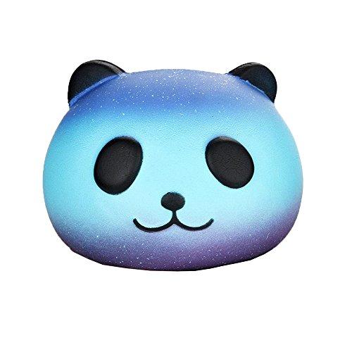 Funkun Panda Squishy Toys Stress Reliever für Kinder und Erwachsene Langsam aufsteigende Creme Scented Soft Toys (Panda, 8*6cm) (Creme Reliever)
