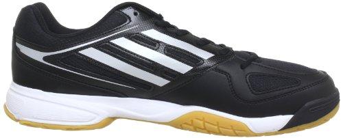 adidas Opticourt Ligra 2, Chaussures de sport homme Noir (Black/Silver/White)