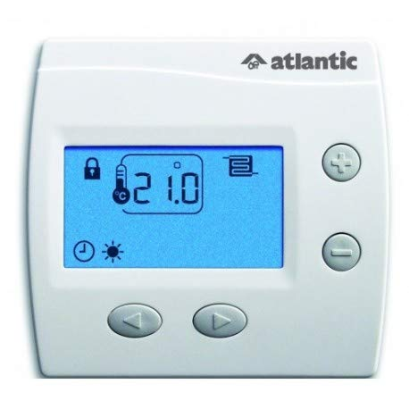 thermostat d'ambiance - digital atlantic domocable - 109519