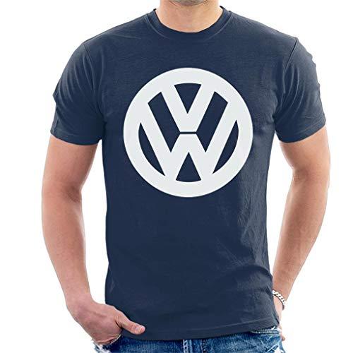 Volkswagen Classic White VW Logo Men's T-Shirt