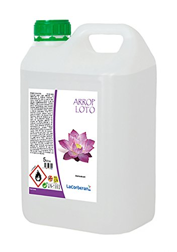 LA CORVERANA Textile Deodorant / Air Freshener for Clothes (Lotus, 5 liters)
