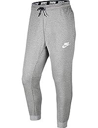 Nike Hosen – Sportswear Advance 15 Jogger grau/schwarz/weiß Größe: XS (X-Small)