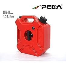 PEDA 5L portatile Benzina Diesel Fuel Tank Pack con blocco SUV ATV motorino del motociclo accessori