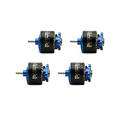 Goolsky 4pcs SUNNYSKY 0705 15000KV Brushless Motor for 60 70 80 90mm Micro FPV Racing Drone